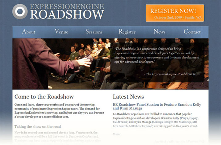 EE Roadshow open for registration